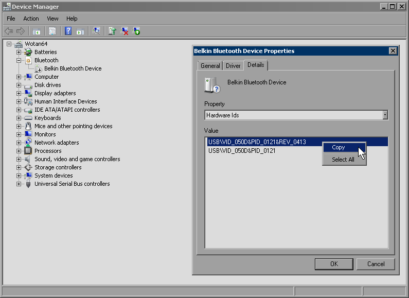 Windows 7 bluetooth for the paranoid, enable and disable quickly - A